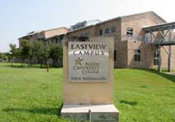 Eastview campus sign