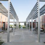 Campus courtyard
